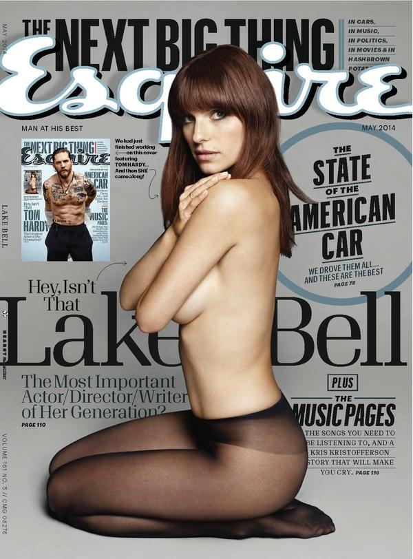 May 2014 cover, featuring Lake Bell.