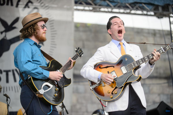 There was jitterbugging during Pokey LaFarge's set.<br /><br />