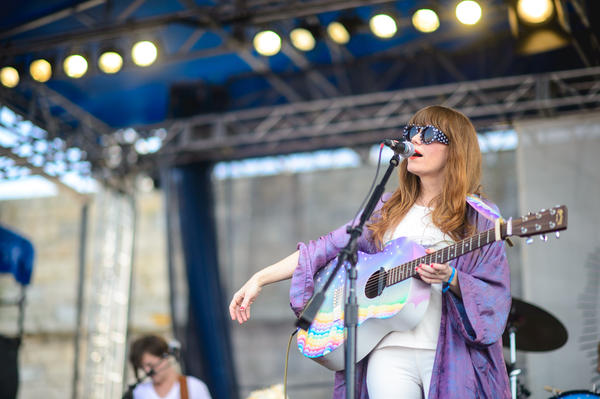 We were all jealous of Jenny Lewis' rainbow-cloud guitar and purple robe.<br /><br />