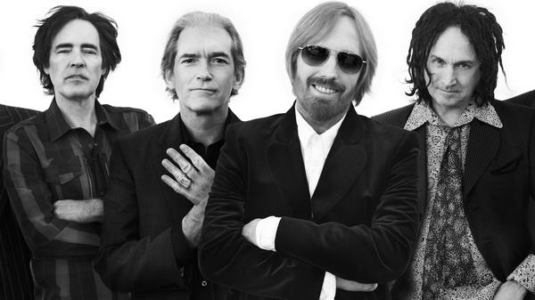 From left: Ron Blair, Benmont Tench, Tom Petty, Mike Campbell. Their new album is <em>Hypnotic Eye</em>.