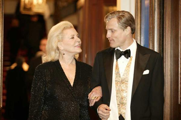 Bacall appeared in the movie <em>The Walker</em> with Woody Harrelson in 2007.