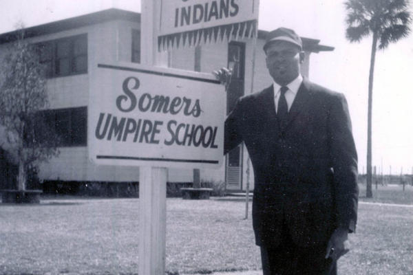 Motley was the first black man to go to umpire school in Florida, after a state law banning whites from teaching blacks was lifted.
