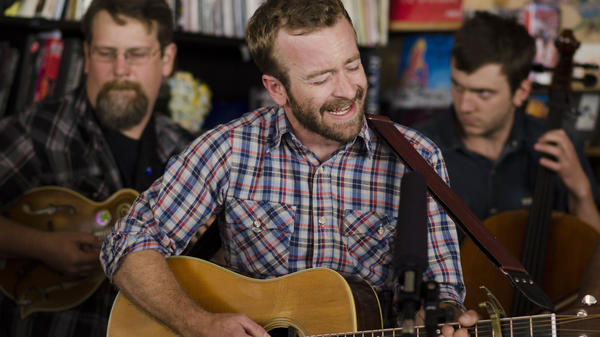 Tiny Desk Concert with Trampled by Turtles on July 16, 2014.