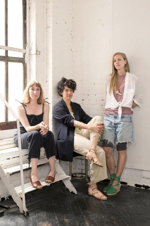 Sheila Heti (from left), Leanne Shapton and Heidi Julavits started working on <em>Women in Clothes</em> after Heti experienced a kind of fashion awakening.