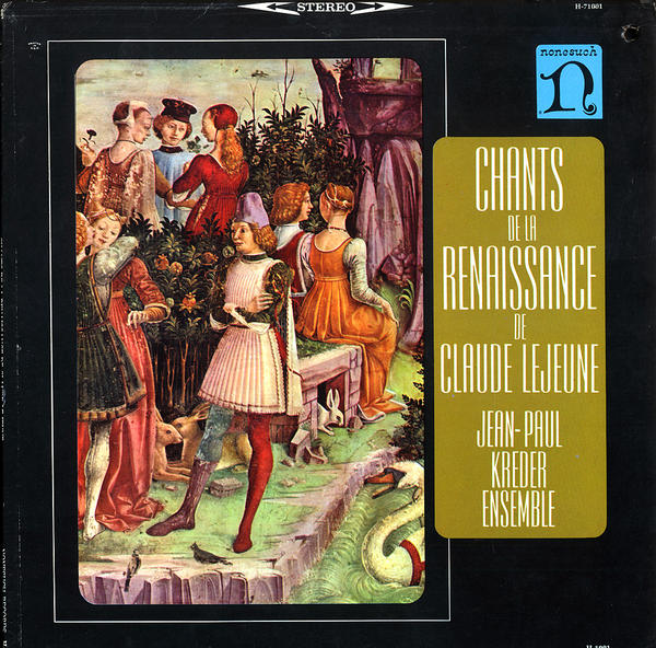 This 1964 album of Renaissance vocal music was the first Nonesuch release.