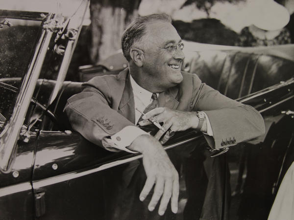 It wasn't until near the end of his life that Franklin Roosevelt, seen here in 1937, finally acknowledged the steel braces he used throughout his presidency.