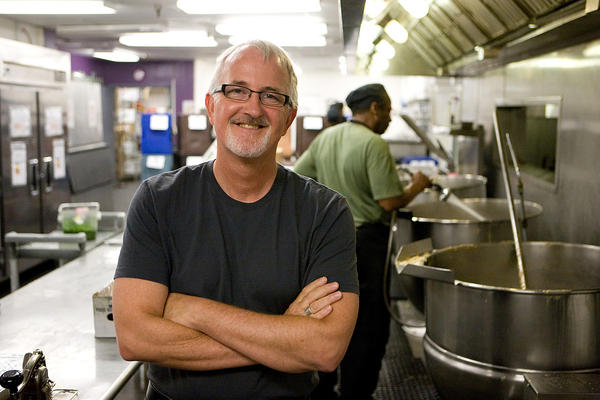 Robert Egger founded DC Central Kitchen to help the city's homeless population trade addiction and crime for stable employment in restaurants and other food enterprises.