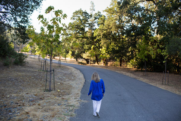 Just being able to see well enough to to hike the hills around her Santa Rosa home by herself is a huge improvement, Beukes says.