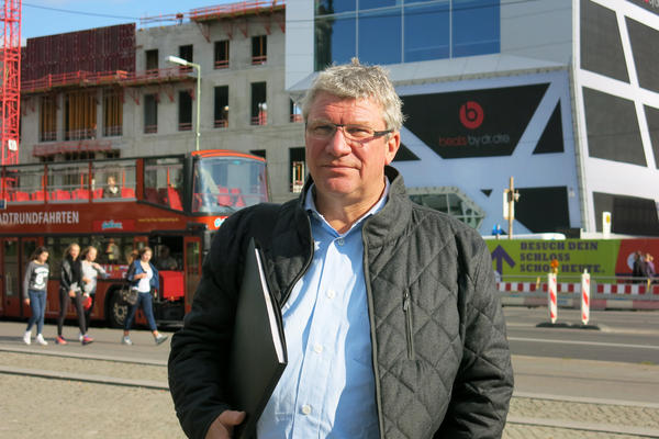 Thomas Krueger, a West German transplant, runs a company that offers architectural tours of Berlin.
