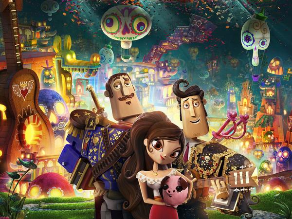 <em>Book Of Life</em> is animator Jorge Gutierrez's first feature film.