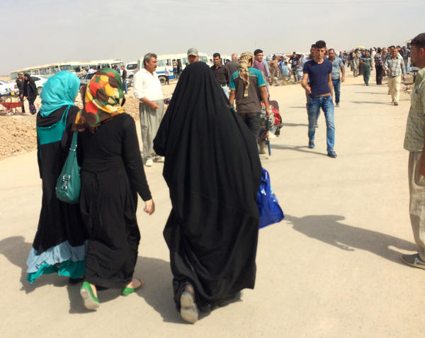 The disputed area around Maktab Khaled is one of the last passageways where civilians can travel between the relative safety of the Kurdish north and the one-third of Iraq that ISIS controls.