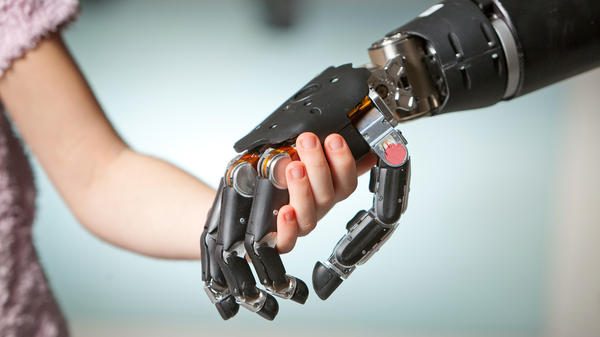 The Johns Hopkins Applied Physics Lab created an electronic prosthetic hand and arm that has the same dexterity as a human arm. Electronic prosthetics are the biggest area of growth in this industry.