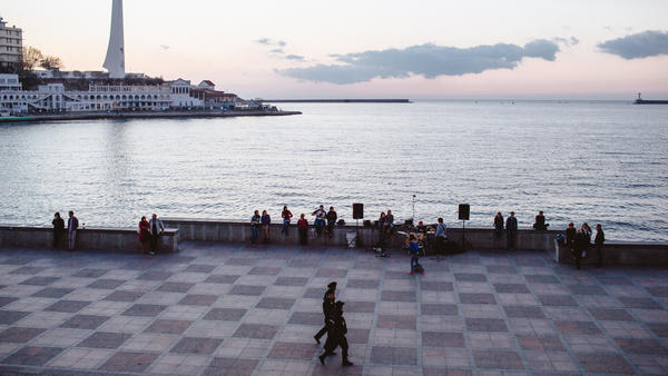 Sevastopol was once a popular destination for foreign tourists, but new visa restrictions have driven away almost all Western visitors.