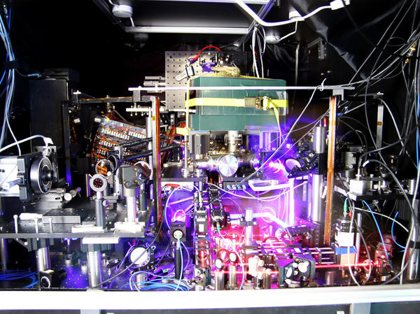 The world's most precise atomic clock is a mess to look at. But it can tick for billions of years without losing a second.