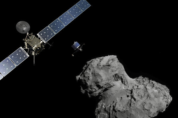 Europe's Rosetta spacecraft is about to send a lander to comet 67P/Churyumov-Gerasimenko.