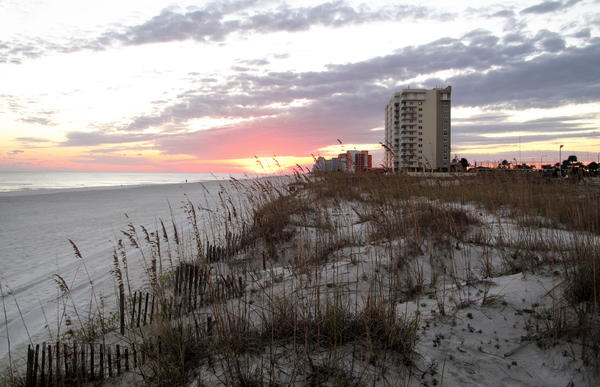 The Alabama gulf coast is heavily developed with condo and hotel properties. Now the state wants to use Gulf Coast restoration funds to build a new beach hotel and conference center.