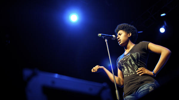 Daisy Armstrong began performing poetry when her mother took her to a youth poetry group. Soon, she was winning competitions — but she was also kicked out of school after a slam poetry tour.