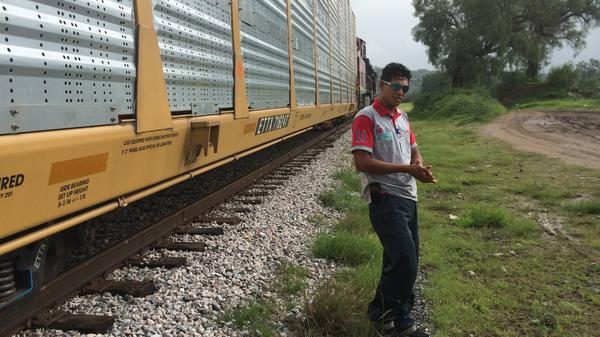 Two years ago, Honduran Wilson Castro was one of countless migrants trying to make his way to the United States. He decided to stay in Mexico instead and help Adrian Rodriguez Garcia feed other migrants traveling through by train. The two men were murdered recently in Huehuetoca, Mexico.