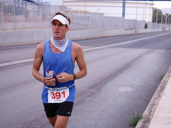 Endurance runner and Purdue University anthropology professor Bryce Carlson is preparing to run 3,080 miles in 140 days.