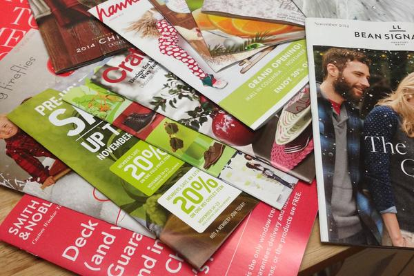 The number of catalogs mailed in the U.S. peaked in 2007, according to the Direct Marketing Association. It's come down since then, but last year it reached 11.9 billion.