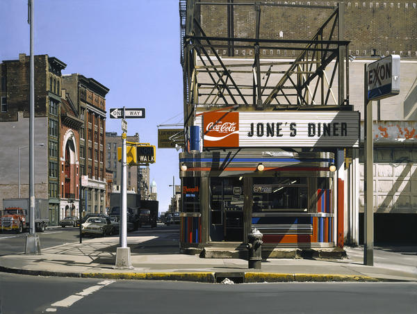 "Richard Estes, <em>Jone's Diner</em>, 1979, oil on canvas. (Private collection.) <a href=""http://media.npr.org/assets/img/2014/12/09/05_custom.jpg"" target=""_blank"">Click here for a closer look.</a>"