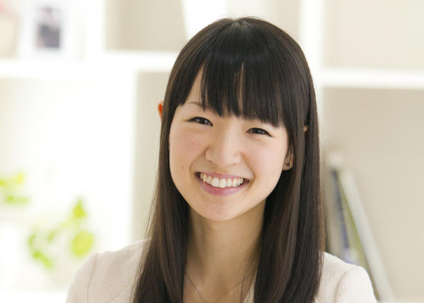 """""""Tidying consultant"""" Marie Kondo has built a huge following with her method of organizing and de-cluttering. (Ten Speed Press)"""