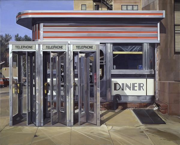 "Richard Estes, <em>Diner</em>, 1971, oil on canvas. (Hirshhorn Museum and Sculpture Garden, Smithsonian Institution, museum purchase, 1977.) <a href=""http://media.npr.org/assets/img/2014/12/10/estes_diner_custom.jpg"" target=""_blank"">Click here for a closer look.</a>"