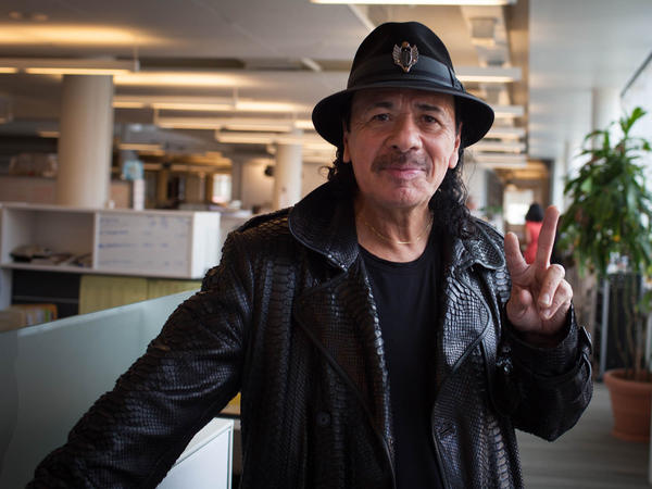 Carlos Santana visits NPR for an interview about his new memoir <em>The Universal Tone: Bringing My Story to Light</em>.