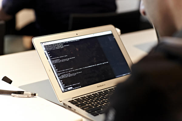 """A student at the coder boot camp at General Assembly in New York City learns more than """"Hello, world."""""""