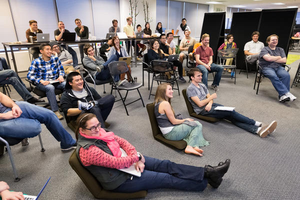 At Dev Bootcamp in San Francisco, group lectures focus on teaching students to teach themselves.
