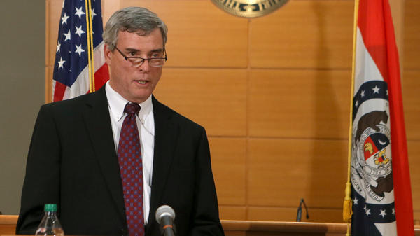 """""""I didn't want to fire things up,"""" St. Louis County prosecutor Robert McCulloch says of his silence since announcing the grand jury's decision not to indict Ferguson police officer Darren Wilson in the shooting death of Michael Brown."""