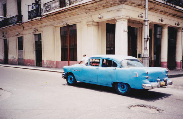 In 1959, Fidel Castro imposed a law forbidding the import of foreign cars, so many Cubans drive and maintain older models.