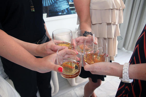 """Women at a whiskey tasting at the <a href=""""http://www.wsouthbeach.com"""">W South Beach Hotel</a> & Residences on May 3, 2012, in Miami Beach, Fla."""
