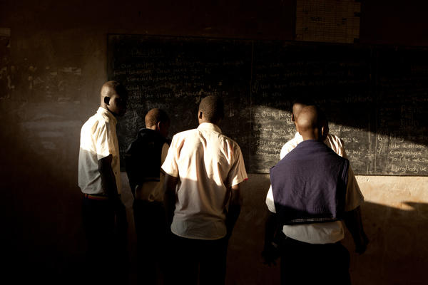 Students in Uganda may use Uglish words, but you can be sure they're not learning them at school.