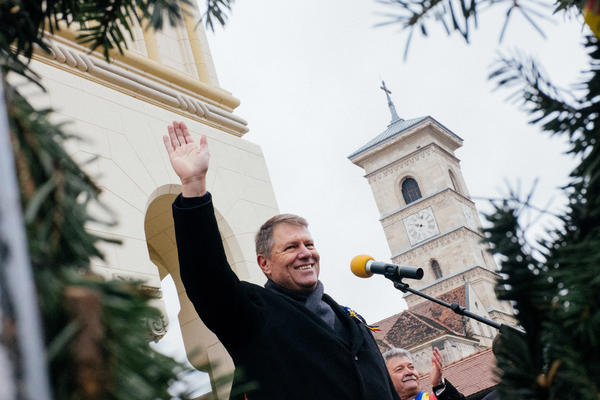 Klaus Iohannis was an underdog who was the surprise winner of Romania's presidential runoff election last month. He was sworn into office on Dec. 21 with a promise to crackdown on corruption, a chronic problem in Romania.