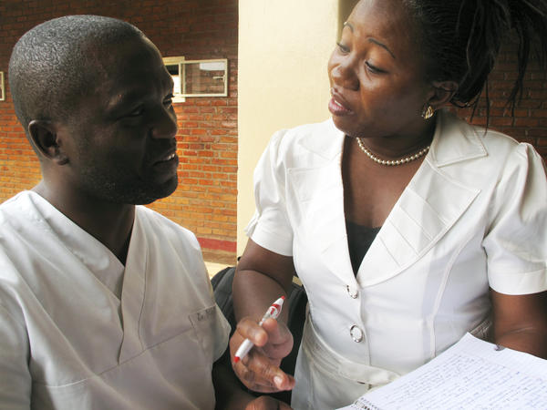 Dr Dieudonne Masemo Bihehe and Dr. Tina Amissi are physicians at Panzi Hospital in Bukavu, now doing research through ICART, a new research center to support Congolese scholarship.