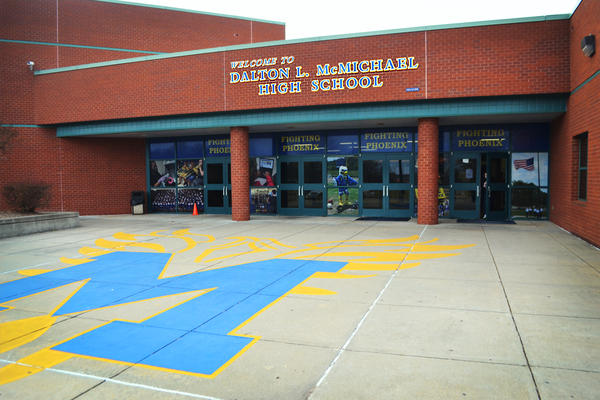 Math scores at McMichael High School have improved.