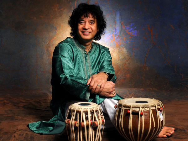 Zakir Hussain learned from the best — his father, Allah Rakha, was a tabla legend. But Hussain's career really took off when he started working with the rock musicians he grew up admiring.