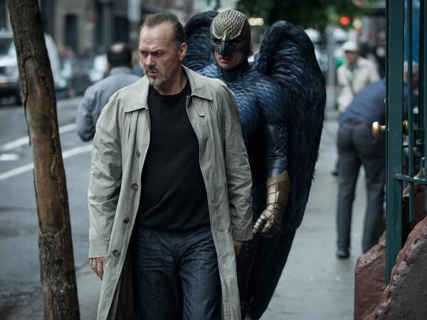 In <em>Birdman, </em>Michael Keaton (a real-life former Batman) plays a former movie superhero who's trying to get a grasp on his career.