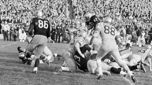 The Army-Navy game on Dec. 7, 1963, was the first televised sports game featuring instant replay. Its inventor, Tony Verna, died Sunday at 81.