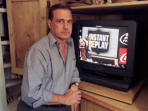 Tony Verna was just 29 when he launched the first instant replay during the Army-Navy football game in 1963.