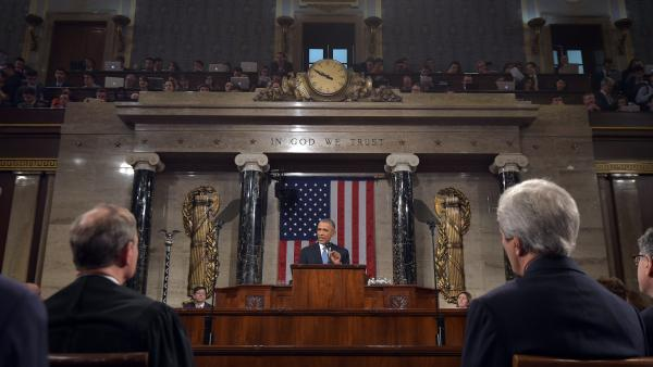 President Obama delivers his State of the Union address to a joint session of Congress on Tuesday night.