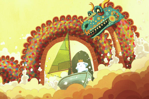 In Dan Santat's <em>The Adventures of Beekle</em>, an imaginary friend sets out to find a child who needs him.