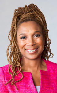 """Kimberle Williams Crenshaw, author of """"Black Girls Matter: Pushed Out, Overpoliced and Underprotected,"""" studies the impact of disproportional discipline on young black girls."""