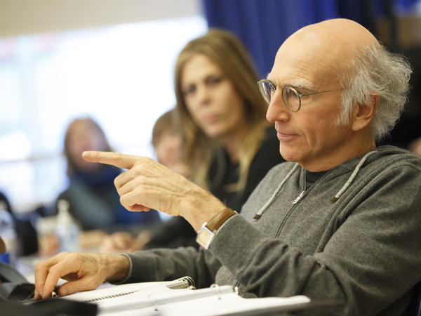 "Larry David hasn't been in a play since the eighth grade, but he's written and stars in a new comedy called <em>Fish in the Dark,</em> directed by Anna D. Shapiro. ""I didn't think it was going to get any laughs at all,"" he says. ""The first time we did it, like every laugh was a surprise to me because I was expecting nothing."""