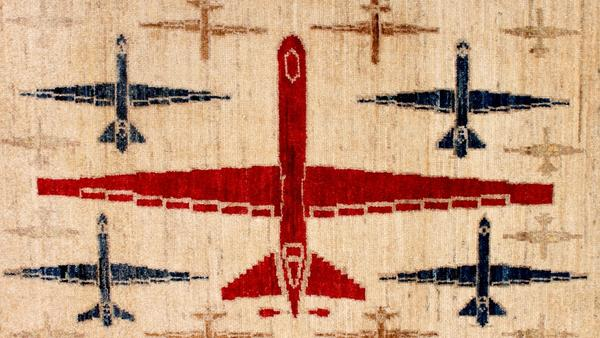 Afghan war rugs reflect the nation's long history of conflict through one of its most ancient art forms.