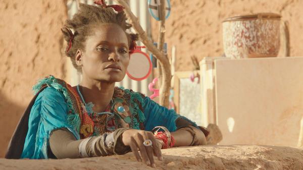 Kettly Noël plays the eccentric Zabou in Abderrahmane Sissako's <em>Timbuktu</em>.