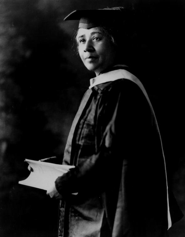 Anna Julia Cooper was the fourth African-American woman in the U.S. to earn a doctoral degree.