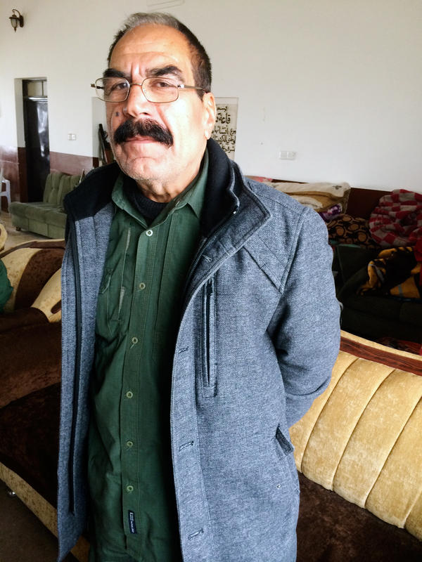 Qasim Shesho has been a Kurdish fighter since the 1970s. When ISIS seized this part of Northern Iraq in August, Shesho says, he led 18 men in defending a temple that is sacred to his Yazidi religion. The siege lasted more than four months.