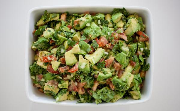 The recipe for guacamole in musician Jack White's concert rider is more like a guacamole salad. But chef Martin Morales says it's pretty good.
